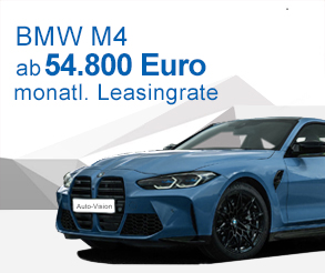 Auto-Vision Angebot M4 Leasing